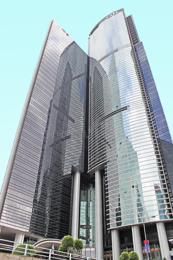 Citibank à Hong Kong photo libre de droits