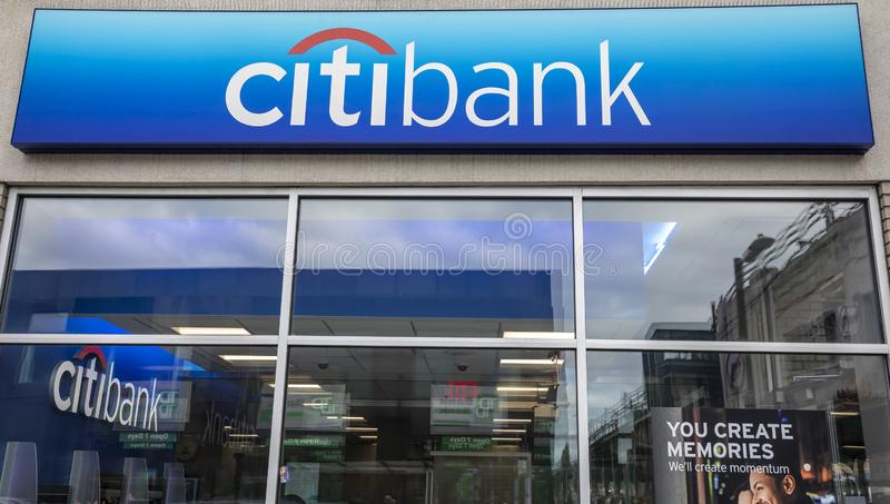 citibank immagine stock