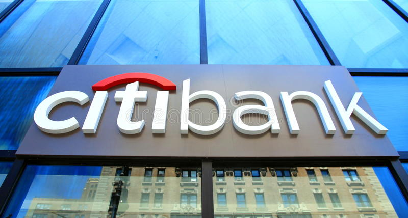 Citibank royalty free stock photography