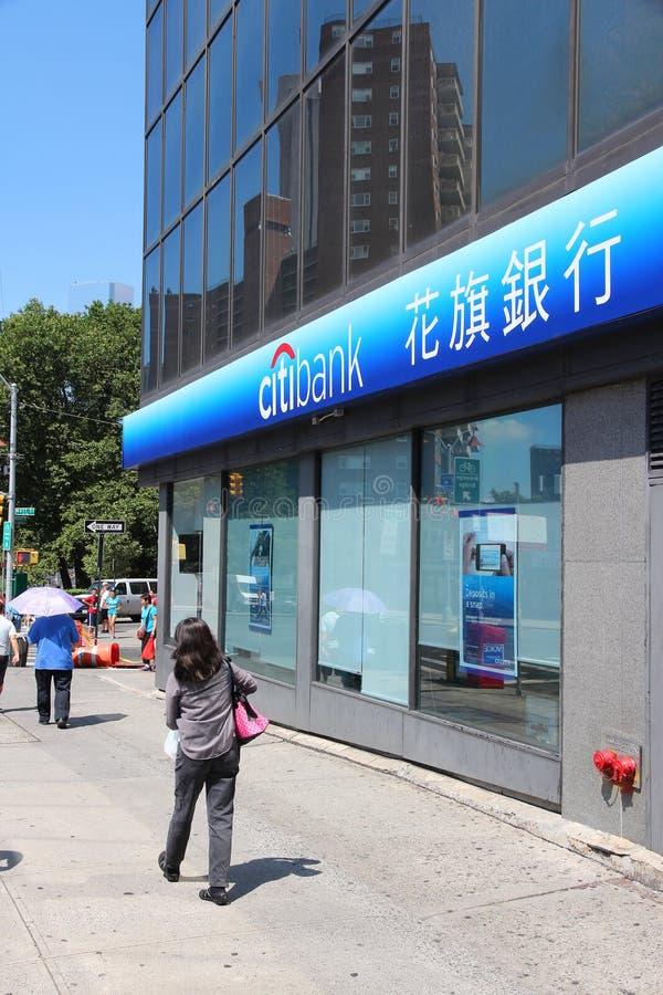 Citibank, Etats-Unis images libres de droits