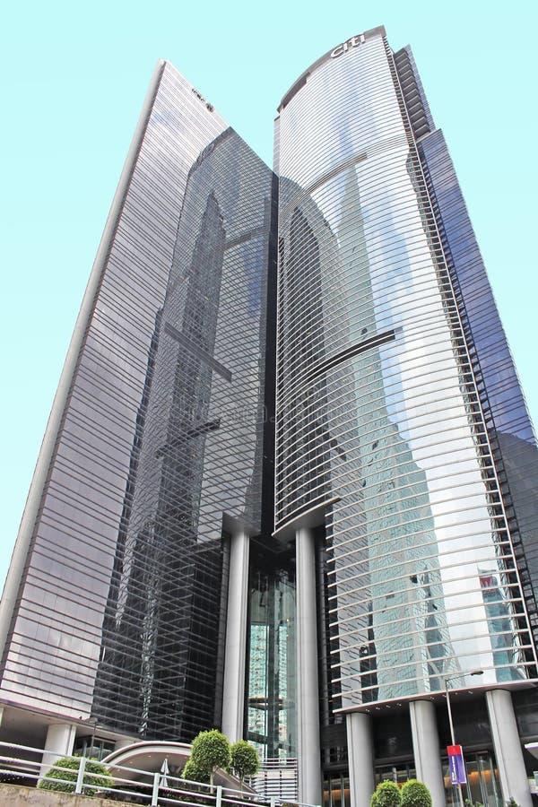 Citibank in Hongkong royalty-vrije stock foto