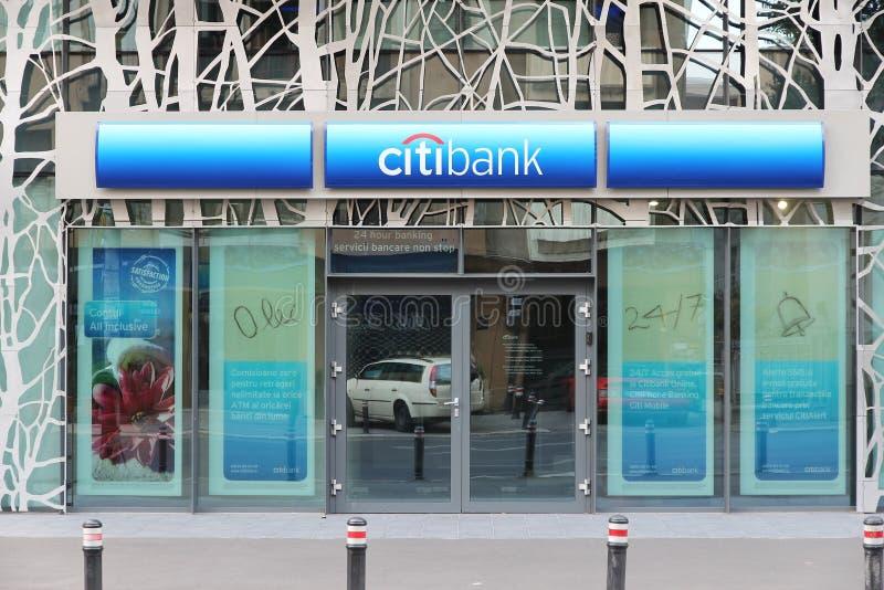 Citibank l'Europe photo libre de droits
