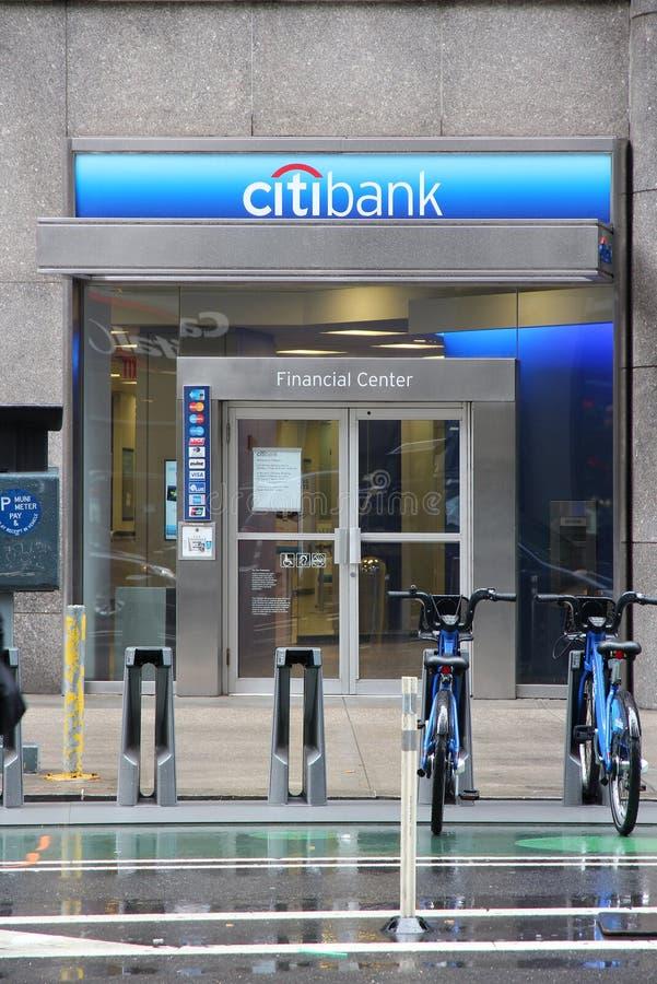 Citibank New York photos libres de droits