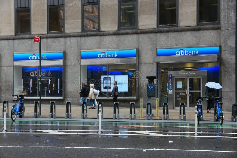 Citibank s'embranchent images libres de droits