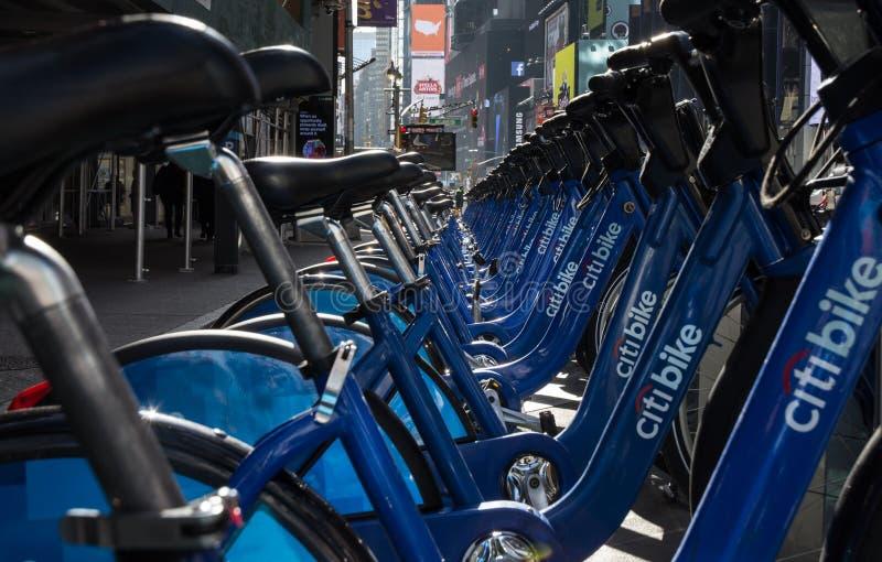 Citibike New York stock photos