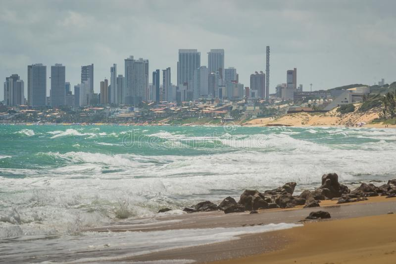 Cities of Brazil - Natal, RN stock photo