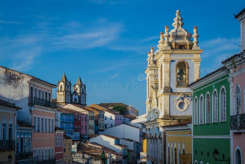 Cities of Brazil - Salvador, Bahia royalty free stock photos