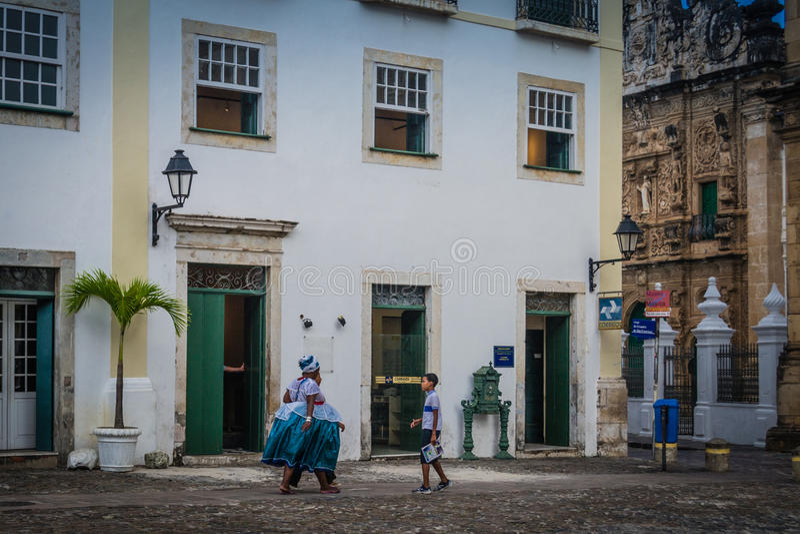 Cities of Brazil - Salvador, Bahia royalty free stock image