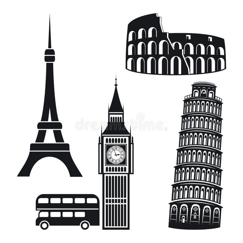 Free Cities Symbols Stock Photography - 47011862