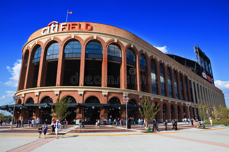 citifield fotografia royalty free