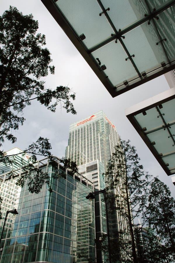 Citigroup mitt royaltyfria bilder