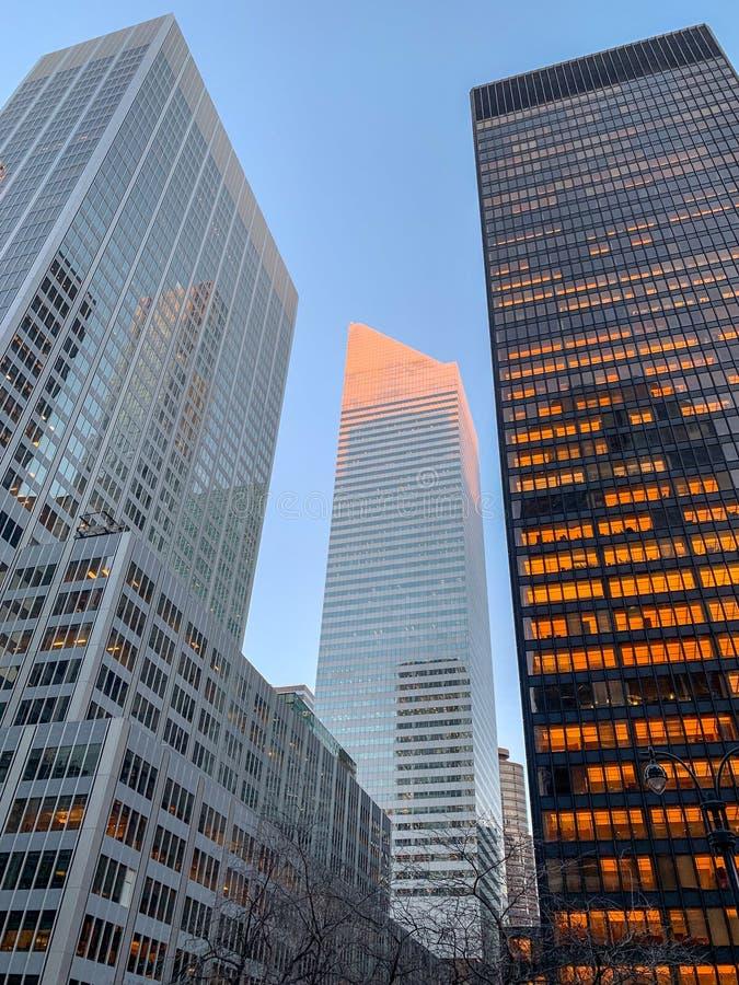 Citigroup mitt - New York City fotografering för bildbyråer