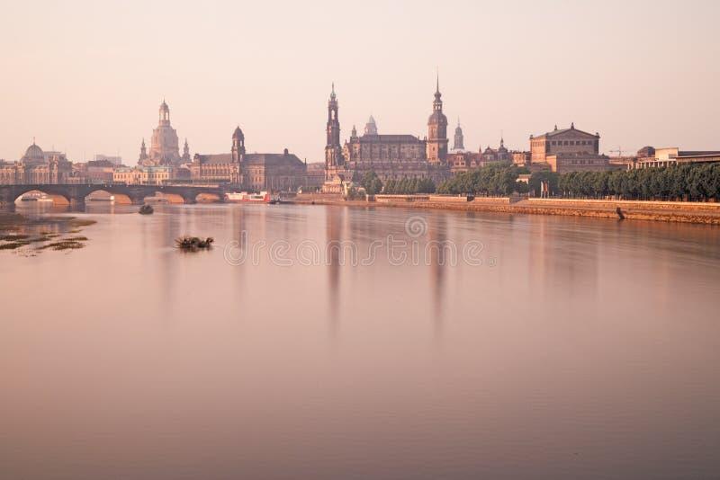Citiscape Дрездена стоковая фотография
