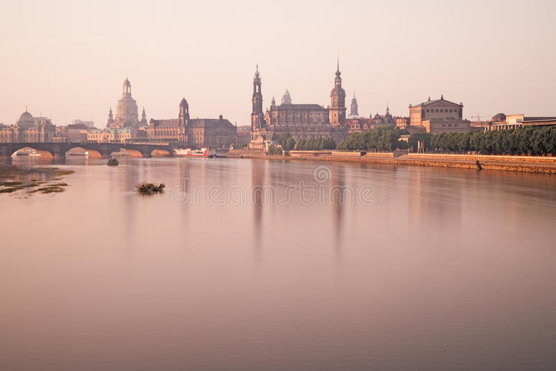 Citiscape de Dresden fotografia de stock