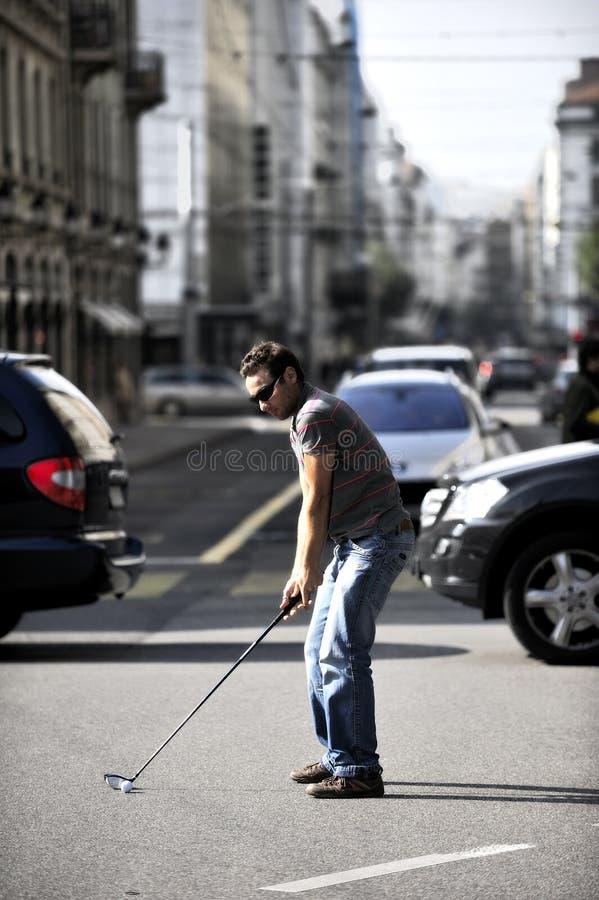 Citiy Golf stockfotos