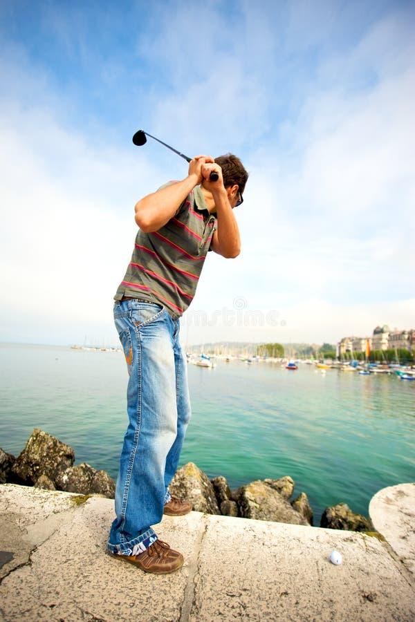 Citiy Golf lizenzfreies stockfoto
