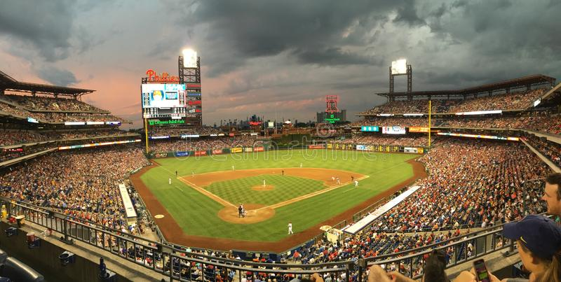 Citizens Bank Park. On July 16, 2016 stock image
