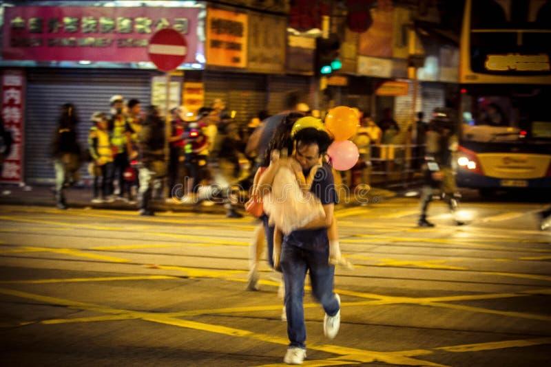 Hong Kong anti extradition bill protests royalty free stock photography