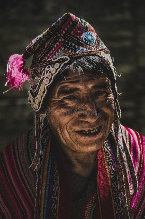 Citoyen de Pisac - Cusco photos libres de droits