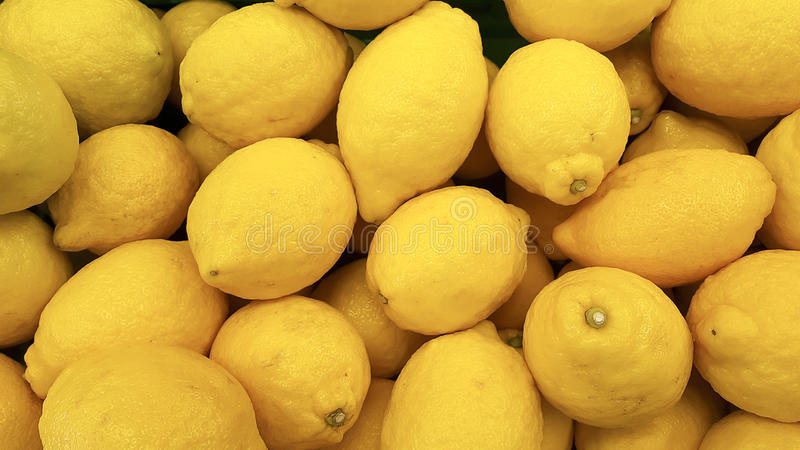 Citrino do limão de Limon fotografia de stock royalty free