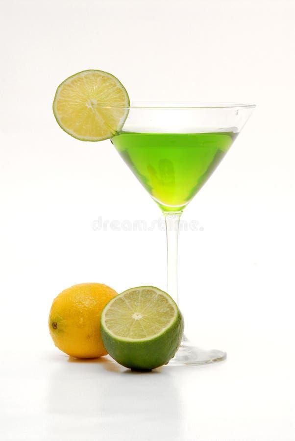 Citrino martini fotografia de stock