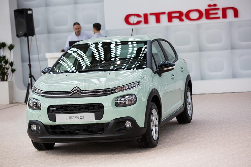 Citroën C3 stock foto's