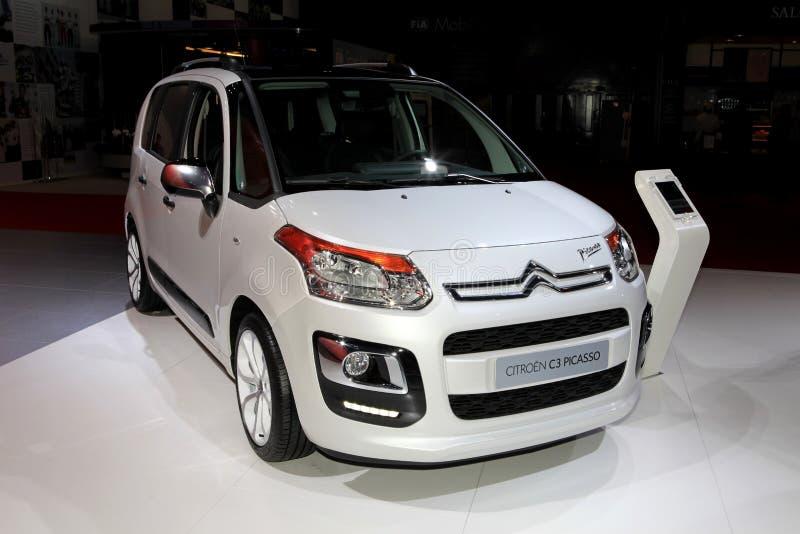 Citroën C3 Picasso royalty-vrije stock fotografie