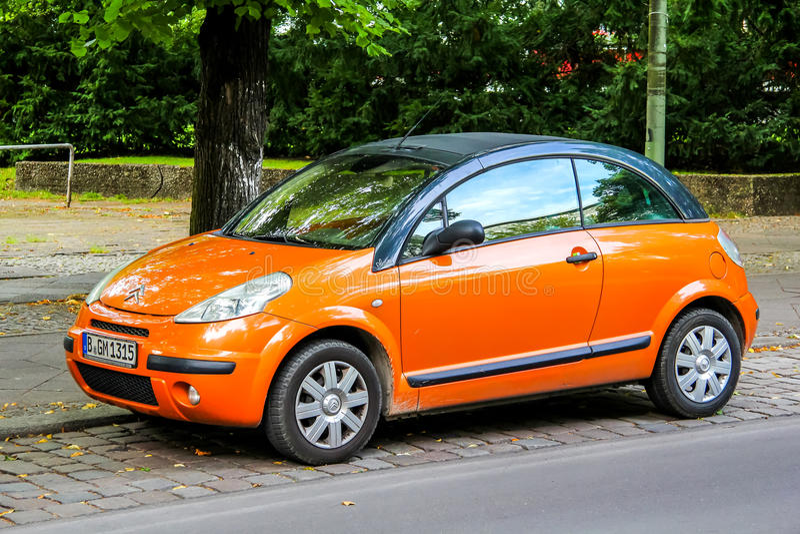 Citroën C3 Pluriel stock fotografie