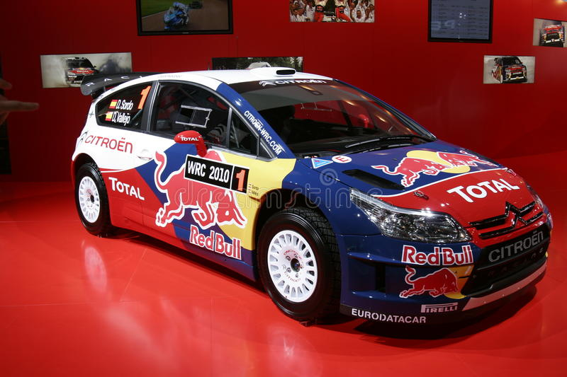 Download Citroën ds4 racing car editorial image. Image of vehicle - 16314885