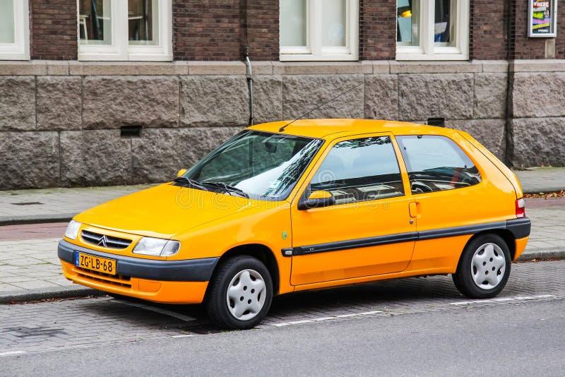 Citroën Saxo royalty-vrije stock foto