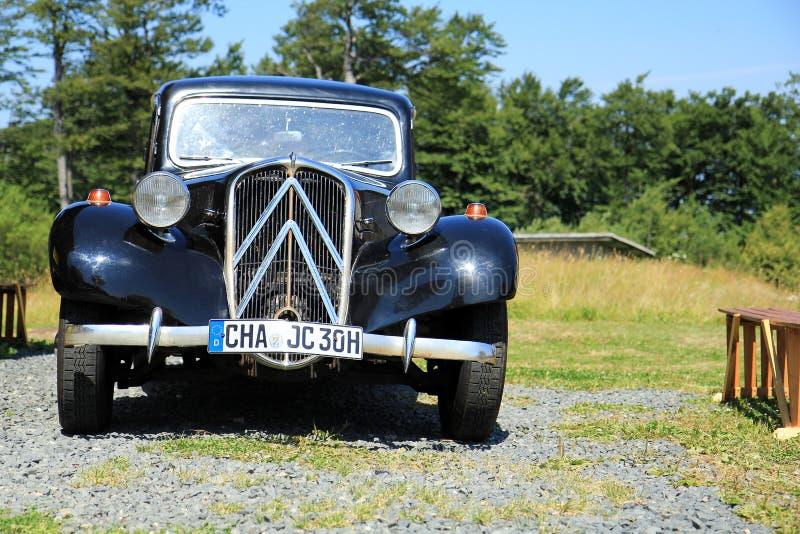 Citroën Traction Avant immagini stock