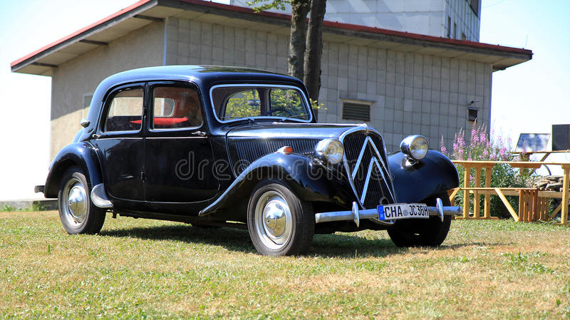 Citroën Traction Avant obraz stock