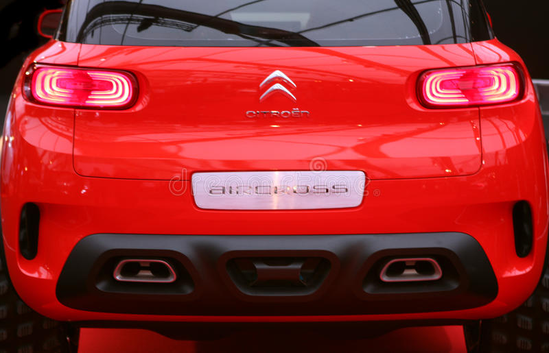Citroen AIRCROSS Concept car royalty free stock image
