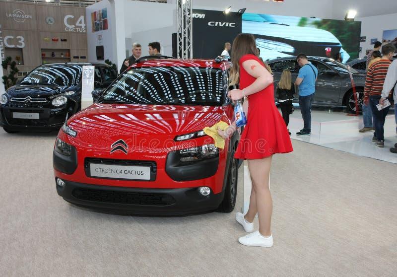 Citroen al Car Show di Belgrado fotografie stock