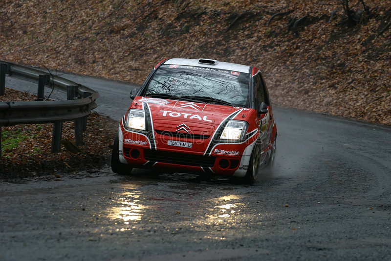 Citroen C2 Rally Car Editorial Photography Image Of Rally 4883077