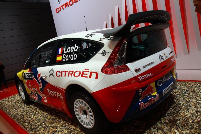 Citroen C4 WRC Editorial Photo