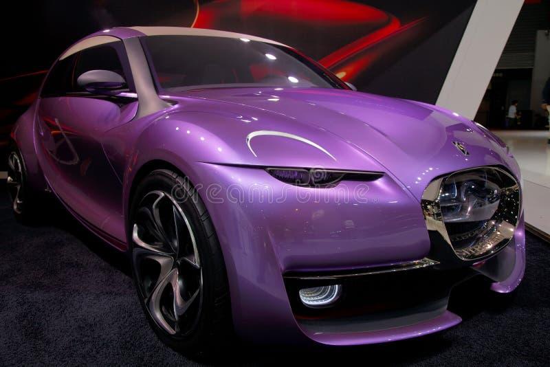 Citroen concept car royalty free stock photography