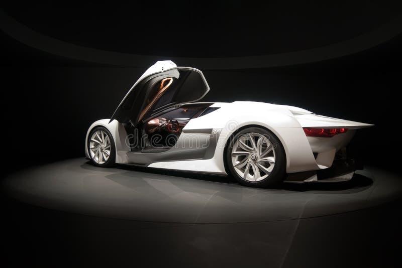Citroen concept car royalty free stock photos