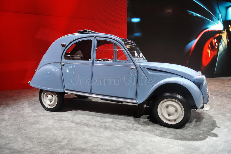 Citroen 2cv 1961 immagine stock