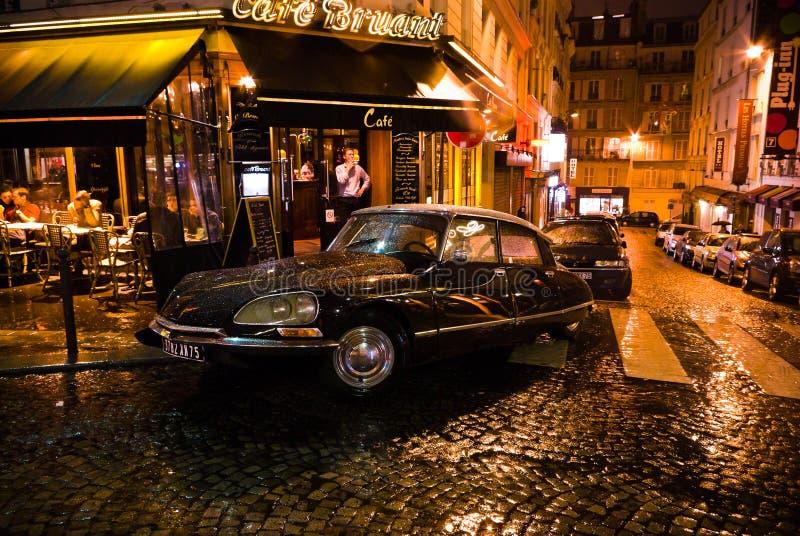 Citroen DS à Paris images libres de droits