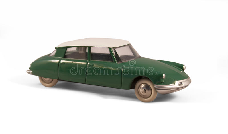 Citroen DS toy car stock images