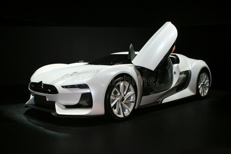Citroen GT concept stock images
