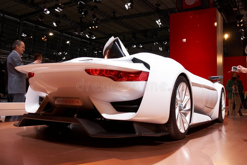 Download Citroen GT Concept editorial stock photo. Image of motor - 6611183