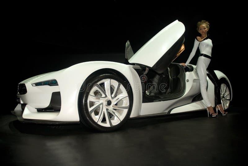Citroen GT conceptcar stockfoto