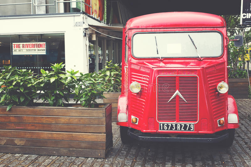 Citroen H type delivery van stock photos