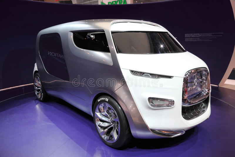 Citroen Kubik Concept Car stock image