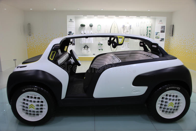 Citroen lacoste concept sport car royalty free stock image