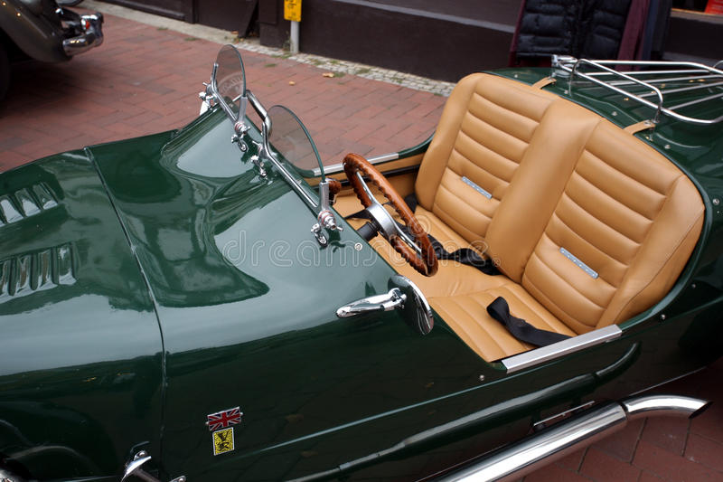 Citroen LoMax roadster. SALZWEDEL, GERMANY – SEPTEMBER 13, 2014: Classic car day (Oldtimertag) in Salzwedel, organised by the association Stadtgeister stock image