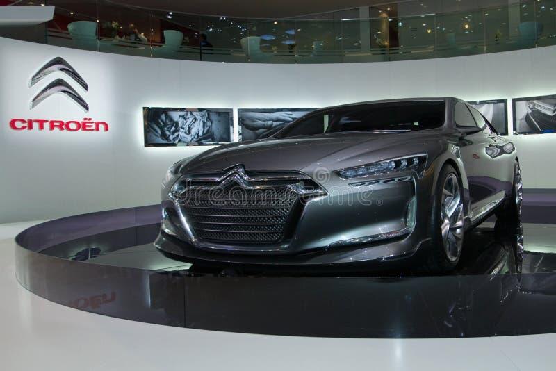 Citroen Metropolis Concept World Premiere royalty free stock photos