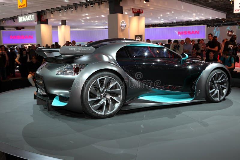 The Citroen Survolt Concept Car Editorial Stock Image